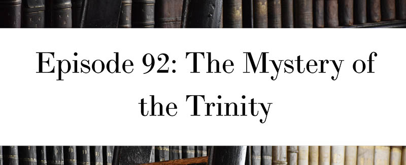 The Daily Brew Interviews Vern Poythress on His New Book, The Mystery of the Trinity